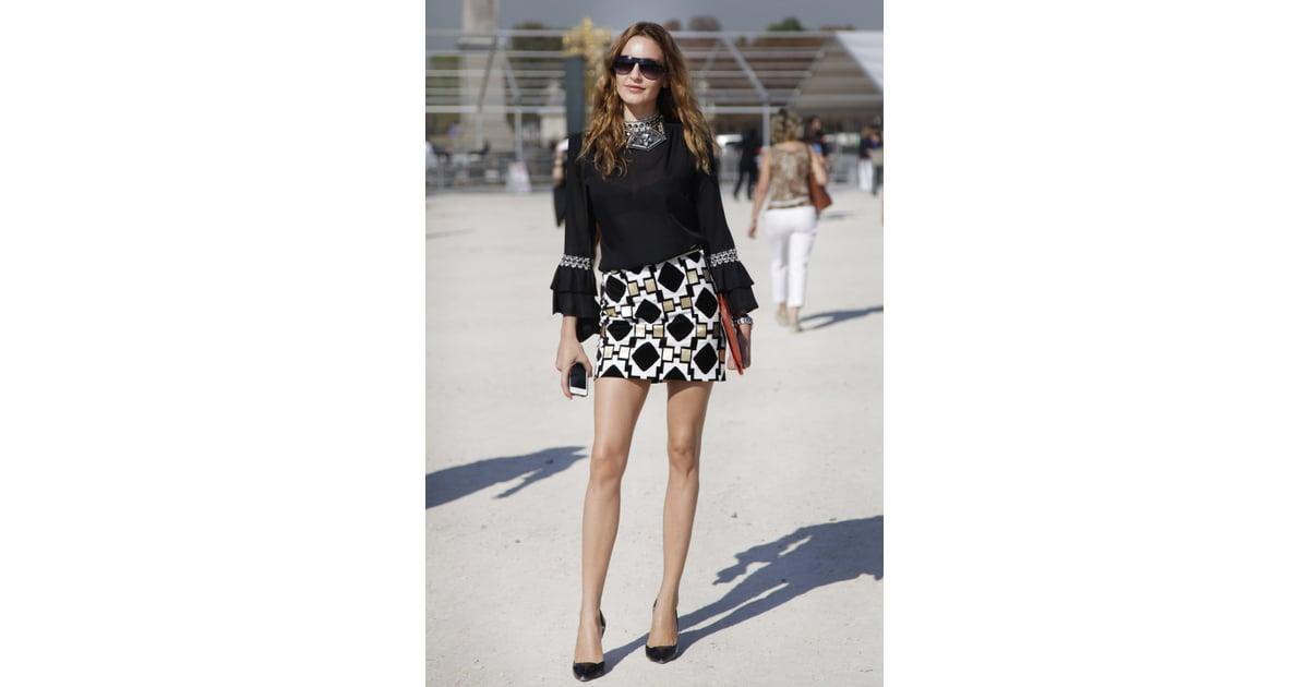 Spring 2012 Paris Fashion Week Street Style Day 1 Popsugar Fashion