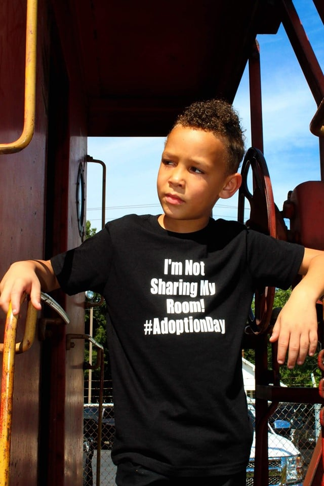 Family's Adoption Photo Shoot