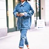 How to Wear Jeans: Yara Shahidi