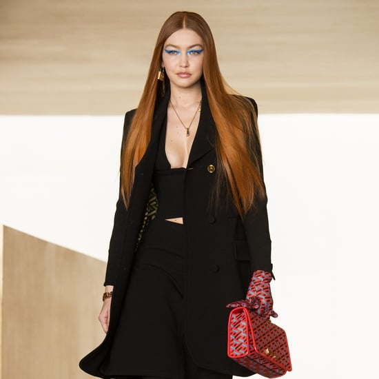 Versace's Autumn/Winter 2021 Collection Stars Gigi Hadid