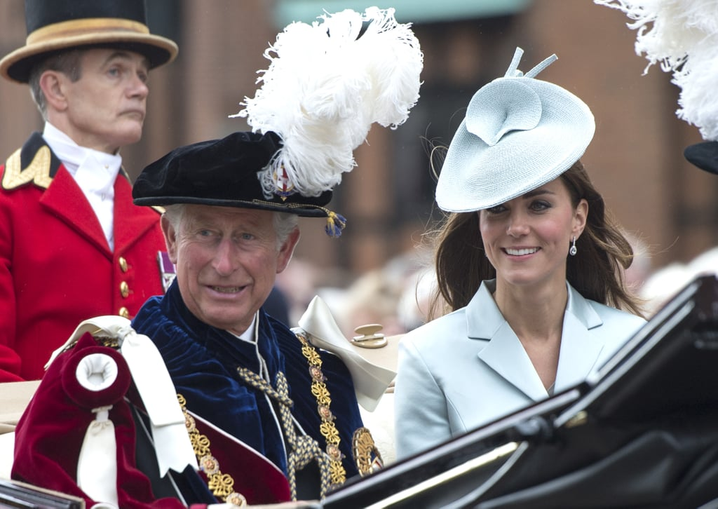 Kate is often seen laughing and joking at royal events with Prince Harry or The Duchess of Cornwall, but what is her relationship like with father-in-law Prince Charles? The pair have known each other for over a decade, and from the early days of William and Kate's relationship it has been clear that there is an ease between the duchess and the future king, which has developed into a deep mutual appreciation. From gentle gestures to raucous laughter, and shared jokes to a spot of arts and crafts — Charles and Kate have shared some truly adorable moments together.