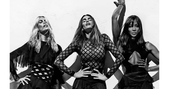 Cindy Crawford, Naomi Campbell And Claudia Schiffer Wow In New Balmain Campaign