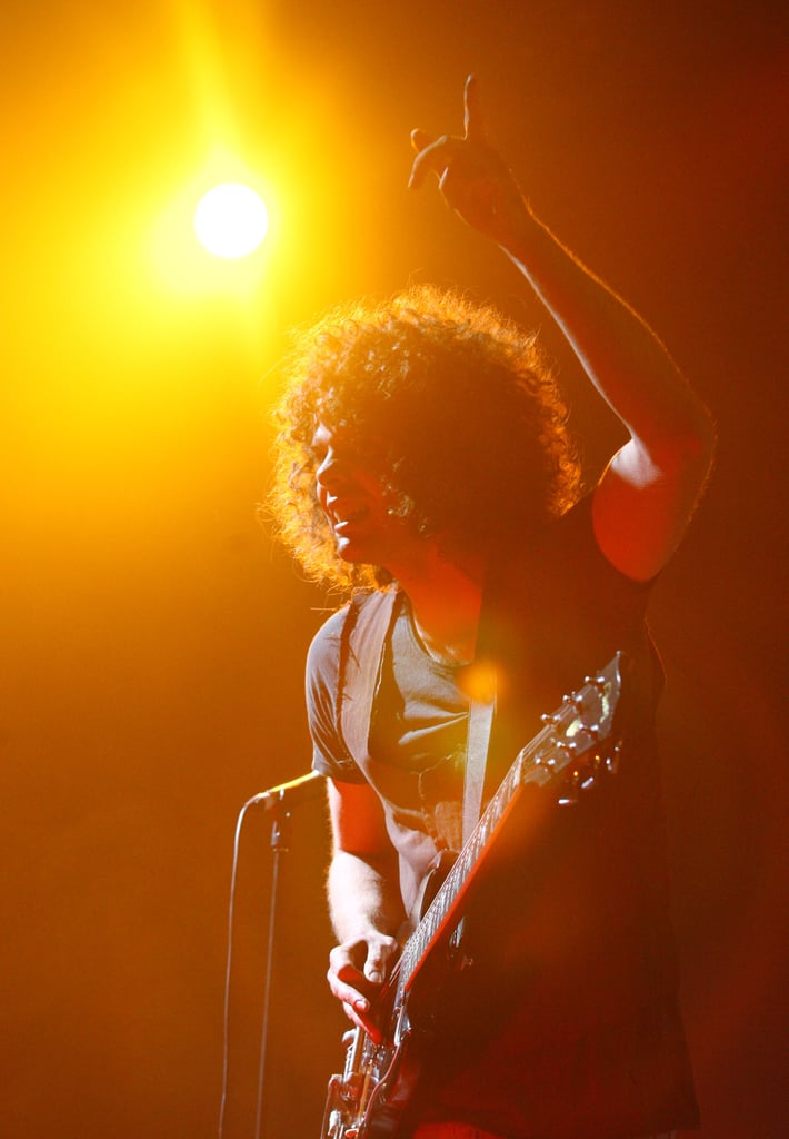 Andrew Stockdale from Wolfmother in 2008.