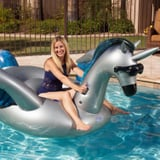 This Isn't Your Ordinary Unicorn Pool Float - It's Wearing Sunglasses AND Has Cupholders