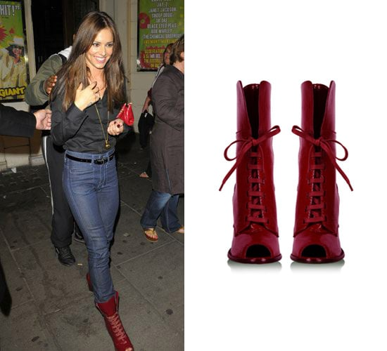 Found Cheryl Cole's Open Toe D&G Boots