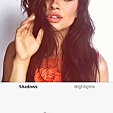 Shay Mitchell With Red Filter