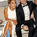 Jennifer Lopez and her Boy Next Door costar Ryan Guzman cozied up inside the Netflix party.