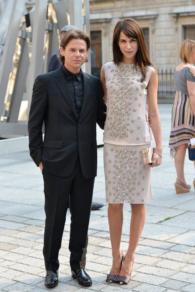 Caroline Sieber and Christopher Kane
