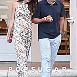 George and Amal Clooney Holding Hands in Italy June 2018