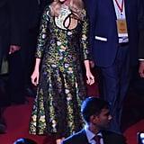 Ivanka Wearing an Erdem Dress