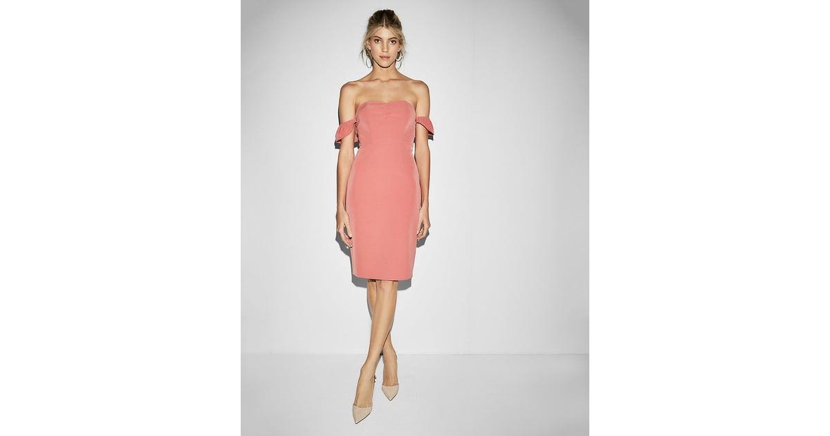 Express Strapless Midi Dress