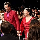 Andrew Scott and Alex Borstein at the 2020 Critics' Choice Awards