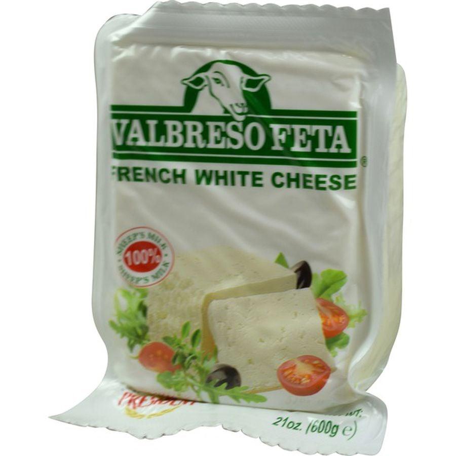 Valbreso Feta French White Cheese ($9)
