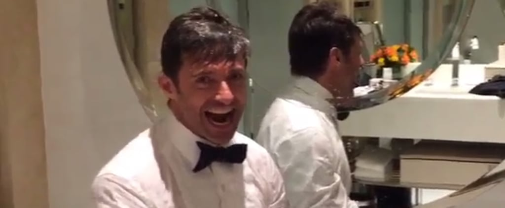 Hugh Jackman Brings Back the Ice Bucket Challenge