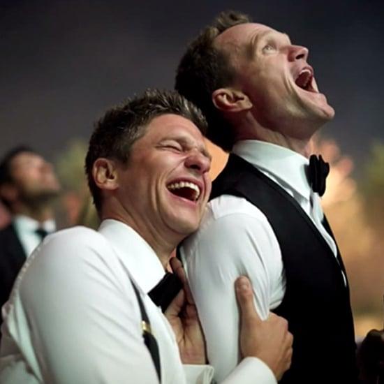Neil Patrick Harris Wedding Pictures On David Letterman