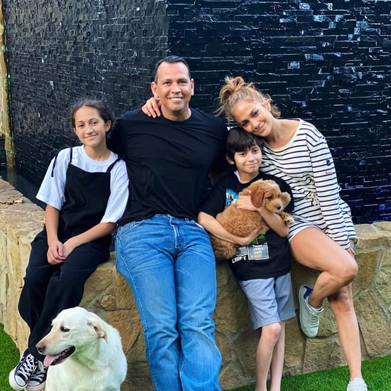 Jennifer Lopez and Alex Rodriguez Got Max a Goldendoodle Dog