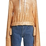 Y/Project Women's Sequin Drawstring Hoodie