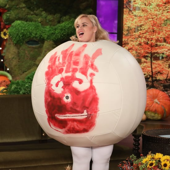Rebel Wilson's Volleyball Halloween Costume 2018