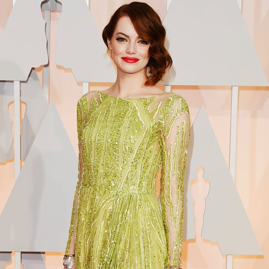 Emma Stone's Oscars 2015 Dress