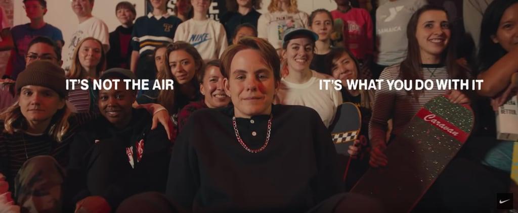 Watch Skateboarder Leo Baker's Inclusive, Inspiring Nike Ad