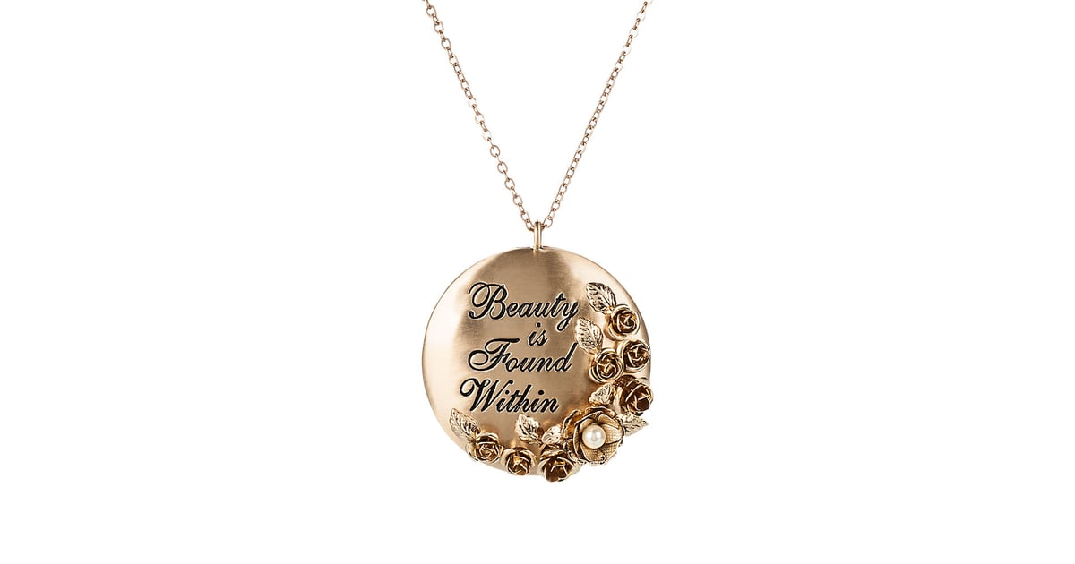 Beauty and the Beast Necklace | Disney Store Products For ...
