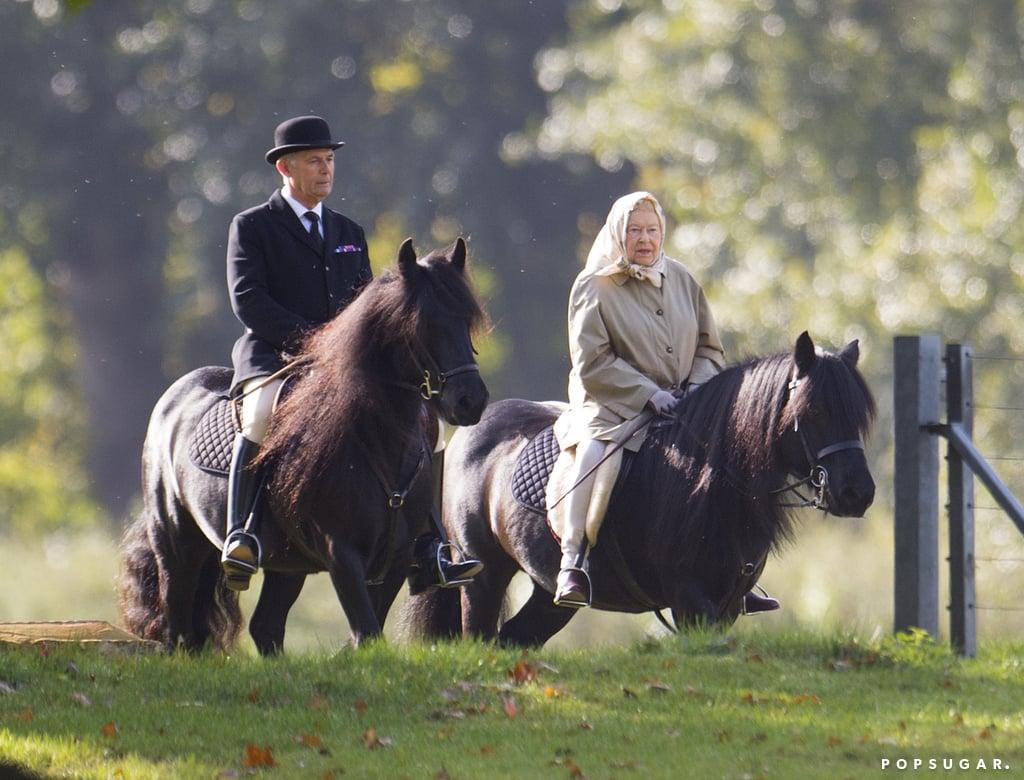 She Rides Horses