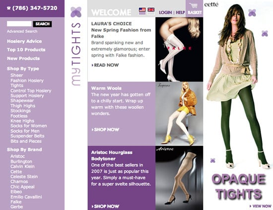 Fab Site: MyTights.com