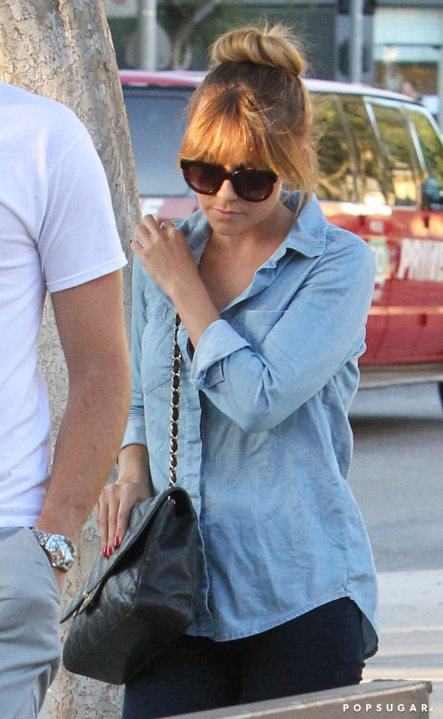 Lauren Conrad carried a Chanel handbag.