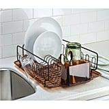 InterDesign Forma Lupe Steel Dish Drainer