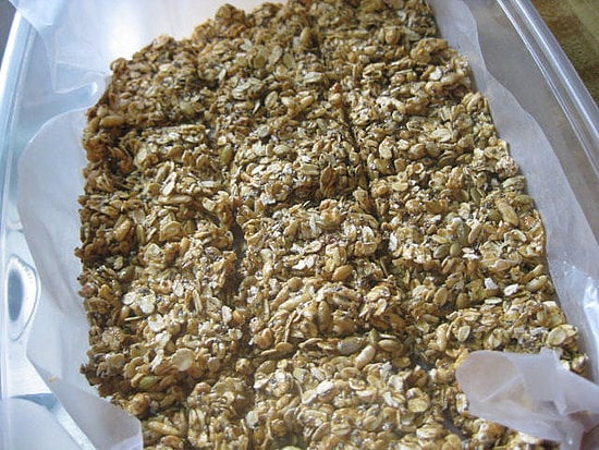 Don't let your love of snacks kill your diet. These nut-filled granola bars are a great option for those on the go.