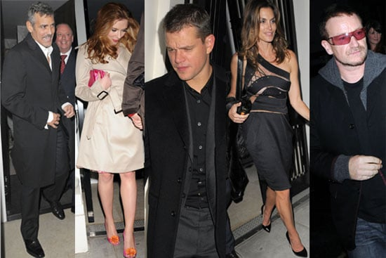05/12/2008 George Clooney and Matt Damon Join Many Celebs For Party In Aid Of Darfur