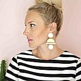 DIY Geometric Statement Earrings