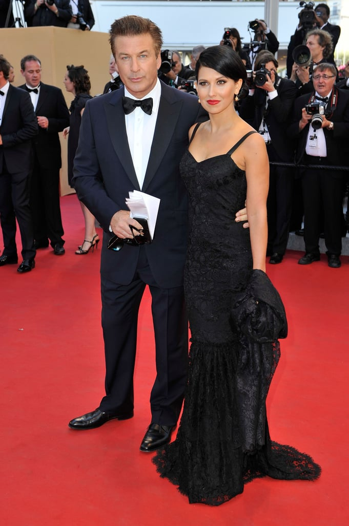 Alec Baldwin arrived with fiancée Hilaria Thomas for the opening of the Cannes Film Festival and the premiere of Moonrise Kingdom.