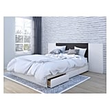 Cadence Queen Size Storage Bed With Headboard
