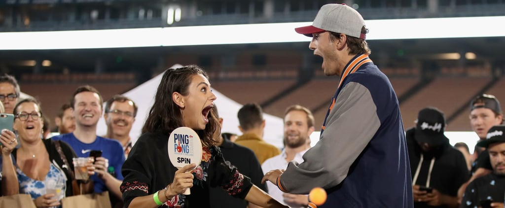 Ashton Kutcher and Mila Kunis Freak Out Over Cheer Gift