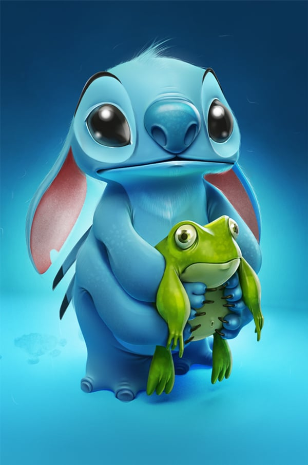 Stitch From Lilo and Stitch Wallpaper