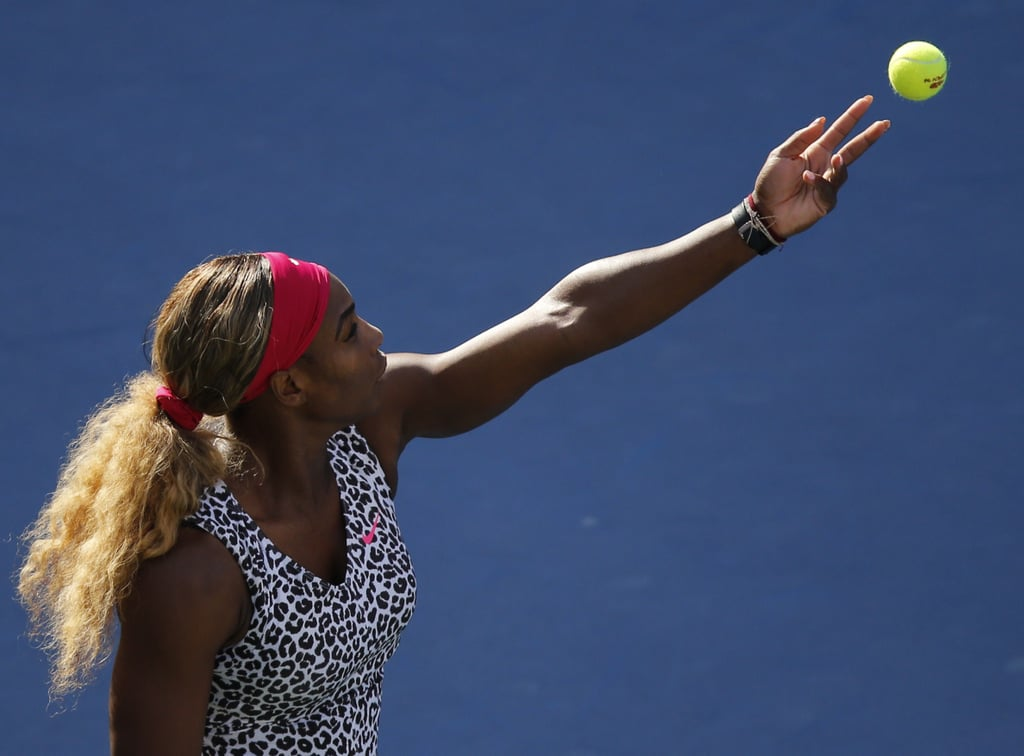 She Brought the Leopard Back at the 2014 US Open