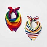 Pride Gender Inclusive Rainbow Striped Bandanas
