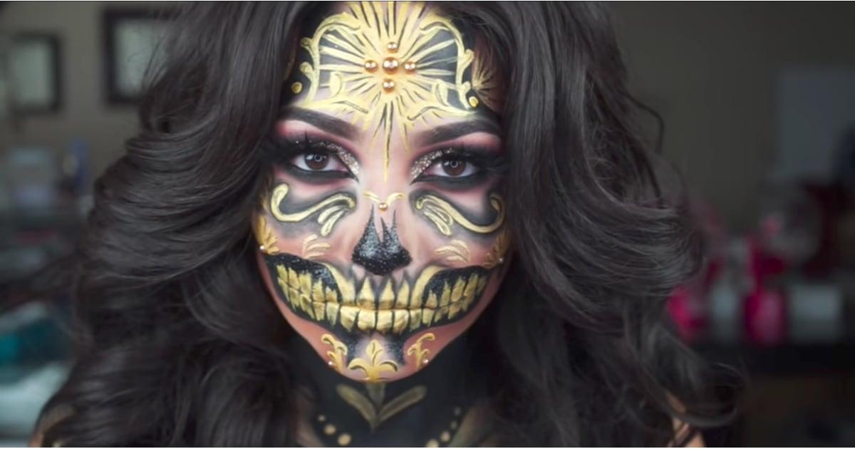 Saint + Sinner Palette Makeup Look   POPSUGAR Beauty
