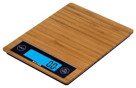 Salter Bamboo Kitchen Scale