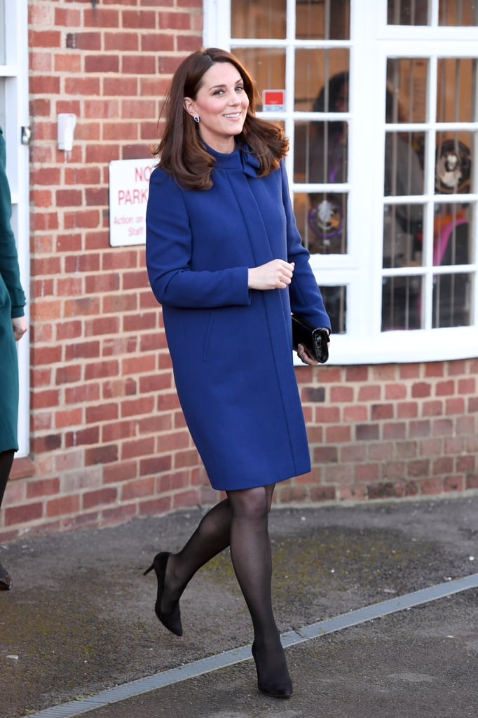 "Black pumps, nude pumps, strapped heels, beige espadrilles. Kate Middleton's shoe collection knows no limits. While many would do just about anything to switch closets with the impeccably dressed British royal, personally, I wouldn't know what to do with so many heels and the high probability of bleeding blisters. Kate must be superhuman, right? As someone who is almost always sporting a pair of thin high heels, we have to wonder if she's smiling through the pain in her arches or if she has the best heel hack known to mankind.  Well, we may be retiring our trusty Band-Aid Blister protections for good because Kate has the hack to end all heel hacks. Back in 2015, Vanity Fair reported that the secret behind the Duchess's flawless high heel stroll is Alice Bow's leather insoles. The Insoles For High Heels ($20) were created to do the impossible: make any high heel — gasp — comfortable. Vanity Fair also reports that Kate has purchased ""several pairs because she finds them so comfortable and the company told Royal Watch it has seen a 'massive surge' in sales, most likely in thanks to its new royal customer."" With these insoles, Kate, who is expecting her third child, can continue wearing heels well into her pregnancy. And, looks like we'll be purchasing a bunch of these royal-approved insoles, too! Read on to see Kate rocking her heels at various events.      Related:                                                                                                           A Definitive Guide to All the Best Shoes in Kate Middleton's Wardrobe"