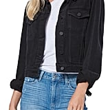 Paige Vivienne Raw Hem Denim Jacket