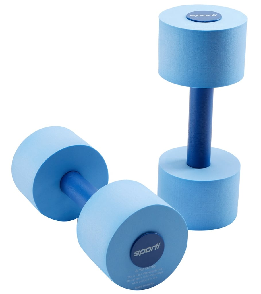 Sporti Aquatic Fitness Light Dumbbells Water Weights
