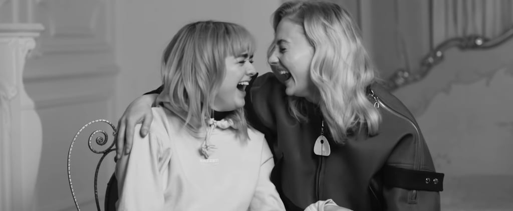 Maisie Williams and Sophie Turner Rolling Stone Video 2019