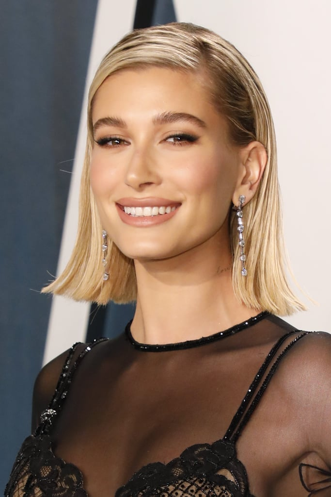 Hailey Bieber's Makeup at the 2020 Oscars