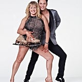Tonya Harding and Sasha Farber