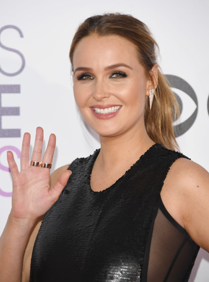 Camilla luddington hair and makeup at people 39 s choice for People s choice 65