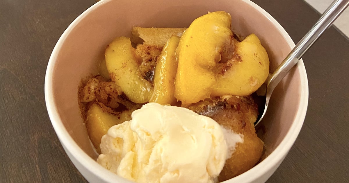 This Quick and Easy Peach Cobbler Is the Perfect Summer Dessert