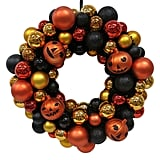 Hyde and Eek! Boutique Halloween Shatterproof Wreath