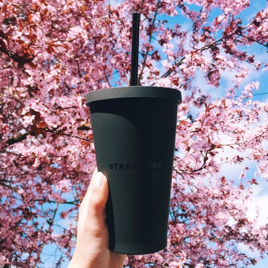 All-Black Starbucks Tumblers